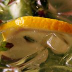 Лимонад с огурцом и мятой