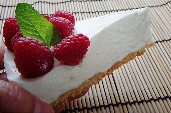 Воздушный творожный торт