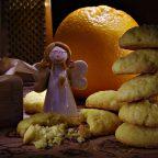 Апельсиновое кукурузное печенье Джейми Оливера