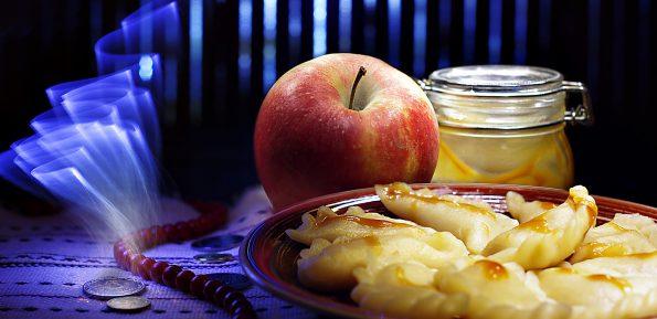 Вареники с яблоками