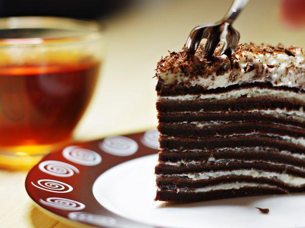 шоколадный крепвиль