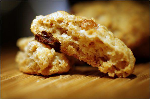 Арахисовое овсяное печенье