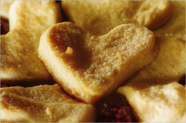 Американский яблочный пирог с ягодами