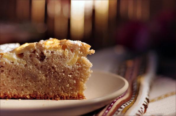 комфортный яблочный пирог