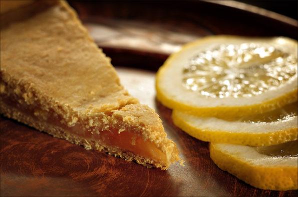 бабушкин лимонный пирог