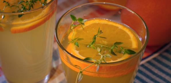 оранжад с тимьяном