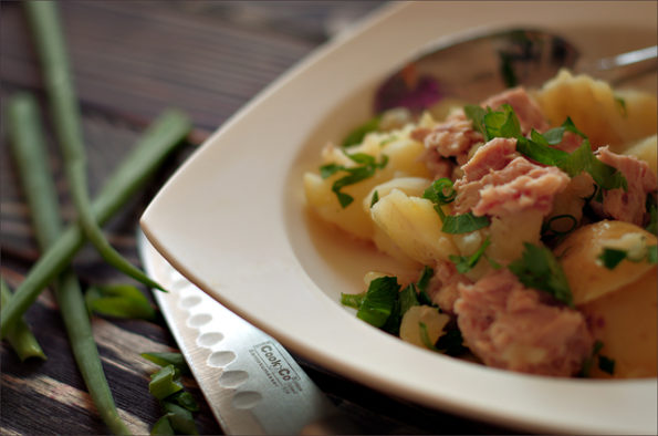 андалузский салат с тунцом
