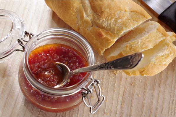 томатный джем
