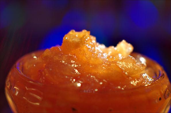 Яблочный джем с имбирем