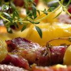 Печеня зі свинини в грецькому стилі