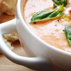 Суп из запеченных перцев