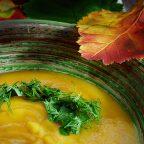 Кремовый суп из кореньев