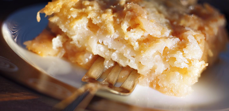 рецепт запіканки з рисом і яблуками