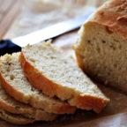 Быстрый домашний белый хлеб с манкой